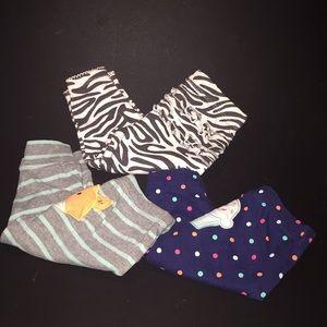 CARTERS Baby 3pcs Pants